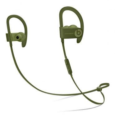 سماعات رأس لاسلكية In-ear نوع Powerbeats 3 من Beats - أخضر داكن