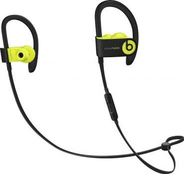 سماعات رأس ستيريو لاسلكية In-ear نوع Powerbeats 3 من Beats - فسفوري