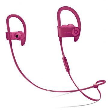 سماعات رأس ستيريو لاسلكية In-ear نوع Powerbeats 3 من Beats - أحمر داكن