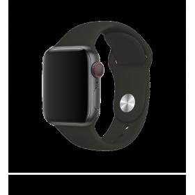 حزام ساعة BeHello - Apple Watch 42/44mm Silicone Strap - أسود