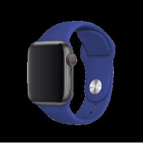 حزام ساعة BeHello - Apple Watch 42/44mm Silicone Strap - أزرق