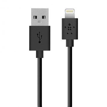 كابل Lightning إلى USB Belkin - أسود