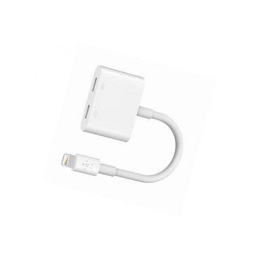 محول BELKIN - Rockstar Lightning Audio + Charge Adapter