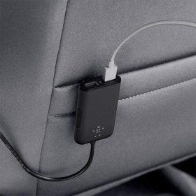 شاحن سيارة 32 وات منفذ USB 7.2 AMP من BELKIN
