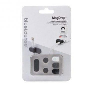 BLUELOUNGE MagDrop Magnetic Cable Tie - Large- Grey/White