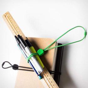 حبل ربط متعدد الاستخدامات BLUELOUNGE - Pixi Multi-Purpose Ties Medium - أسود / أخضر