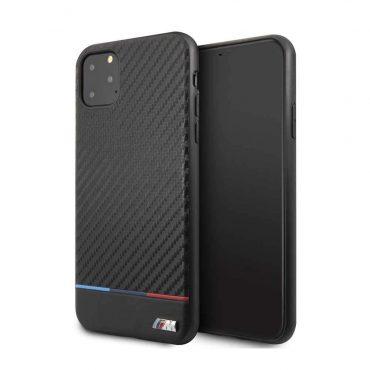 كفر جلدي ايفون 11 Pro Max  من BMW - أسود