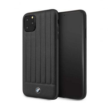 كفر جلدي لآيفون 11 Pro Max من BMW - أسود