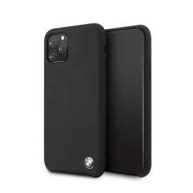 كفر BMW - Signature Collection Silicone Hard Case for iPhone 11 Pro - أسود
