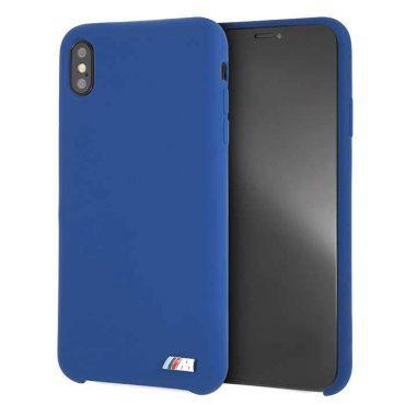 كفر BMW - Silicone Hard Case for iPhone XS Max - كحلي