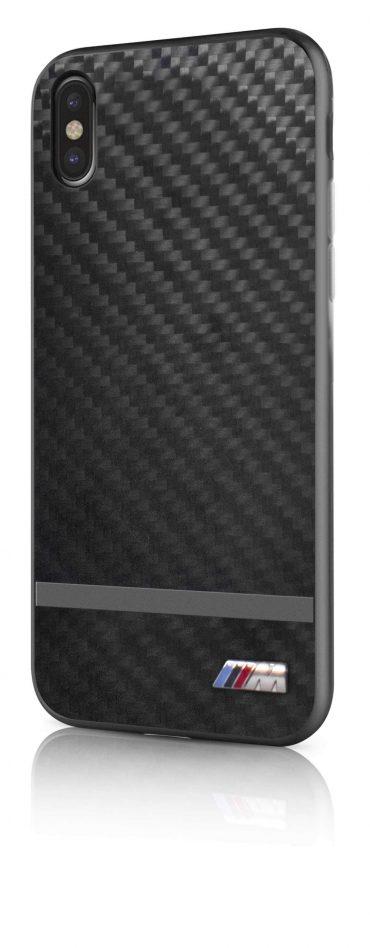 كفر BMW - Real Carbon Fiber Case for iPhone X - معدني