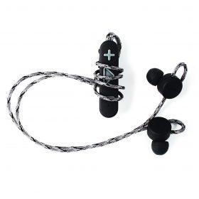سماعة أذن Boompods - RetroBuds Wireless Earphones - أسود / رمادي