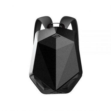 حقيبة ظهر مزودة بسبيكر وباور بانك Brave Backpack With Bluetooth Speaker And Power Bank 5000mAh - أسود