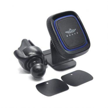 حامل هاتف مغناطيسي للسيارة Brave 2-In-1 Universal Car Holder