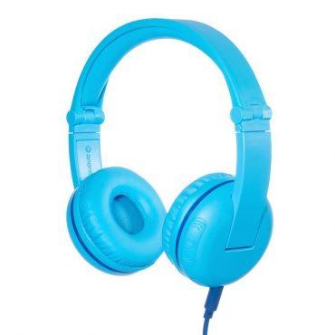 سماعة رأس لاسلكية مدعمة بالبلوتوث للأطفال من BUDDYPHONES - أزرق