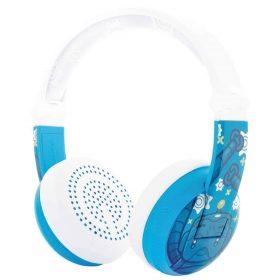 سماعة رأس للأطفال Wave  بالبلوتوث ومقاومة للماء من BUDDYPHONES - أزرق