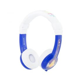 سماعة رأس للأطفال قابلة للطي من BUDDYPHONES مع ميكروفون - أزرق