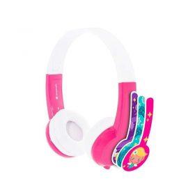 سماعة رأس للأطفال مع ميكروفون من BUDDYPHONES - وردي