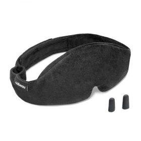 ماسك العيون Cabeau  - Midnight Magic Sleep Mask - أسود