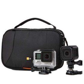 حقيبة قوية لكاميرات الأكشن من CASE LOGIC - أسود