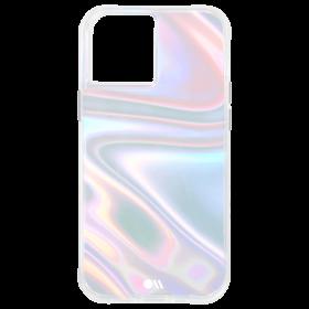 كفر Case-Mate - Soap Bubble Case for Apple iPhone 12 Pro Max - Iridiscent