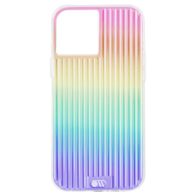 كفر Case-Mate - Tough Groove Case for Apple iPhone 12 Mini - Iridiscent