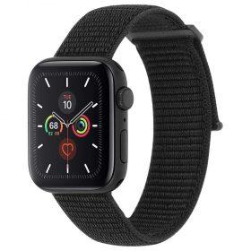 حزام ساعة Case-mate - 42-44mm Apple Watch Nylon Band - أسود