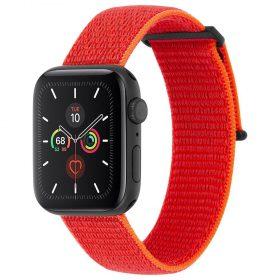 حزام ساعة Case-mate - 42-44mm Apple Watch Nylon Band - برتقالي