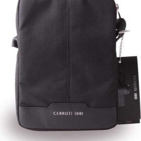 حقيبة تابلت جلدية Cerruti 10 بوصة - أسود