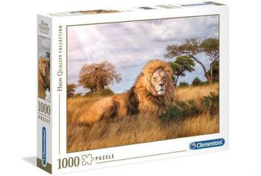 لعبة تطبيقات 1000 قطعة CLEMENTONI - THE KING OF FOREST '' LIONE ''