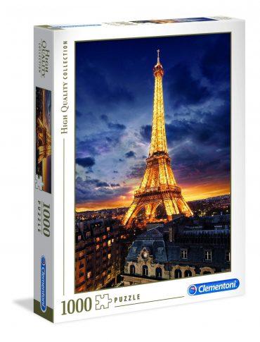لعبة تطبيقات 1000 قطعة CLEMENTONI - VIEW OF EIFFEL TOWER