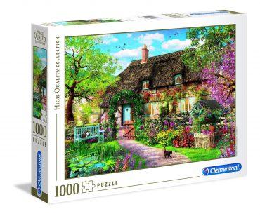 لعبة تطبيقات 1000 قطعة  CLEMENTONI - THE OLD COTTAGE