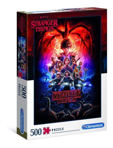 لعبة تركيب Clementoni - Adult Puzzle Netflix Stranger Things Magic 500PCS
