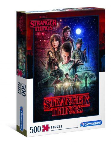 لعبة تركيب Clementoni - Adult Puzzle Netflix Stranger Things 500PCS