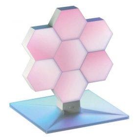 أداة أضواء متغيرة اللون 7 لوحات ColoLight - WiFi Color Changing LED Lights