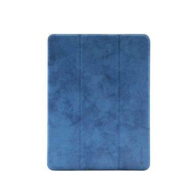 "كفر جلدي Leather Case with Pencil Slot Apple iPad 9.7"" Comma - أزرق"