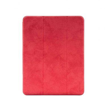 كفر جلدي آيباد برو 11 إنش Comma Leather Case - أحمر