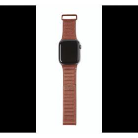 حزام جلدي مقاس 42-44 ملم لساعة آبل Decoded Apple Watch Series 5
