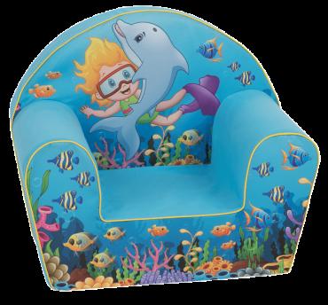 أريكة Delsit Arm Chair -  بحر مع لون أزرق