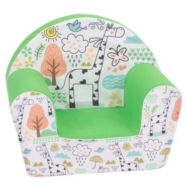 أريكة Delsit Arm Chair -  زرافة مع لون أخضر