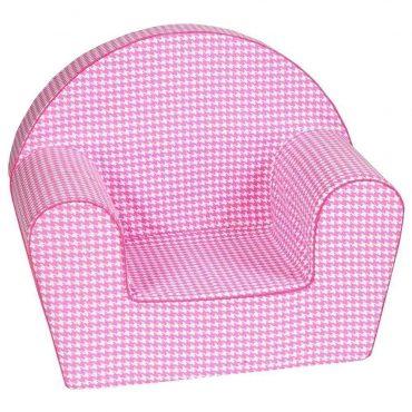 أريكة Delsit Arm Chair – وردي مموج