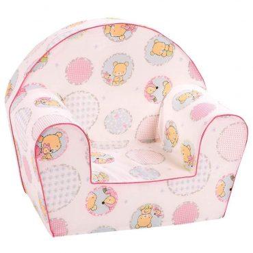 أريكة Delsit Arm Chair - أشكال مع لون وردي