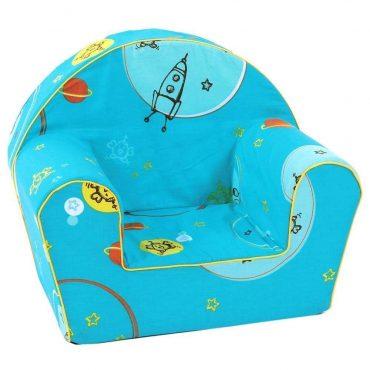 أريكة Delsit Arm Chair - أزرق فاتح كلون الفضاء