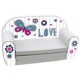 أريكة و سرير 2 في 1 Delsit Sofa Bed  - رمادي محبوب