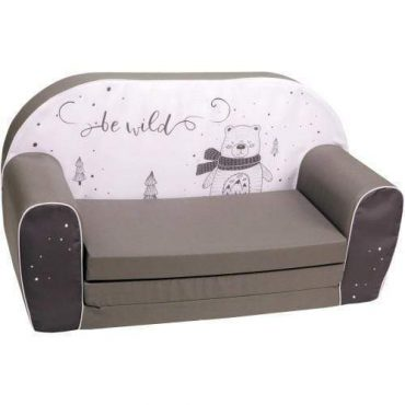 أريكة و سرير 2 في 1 Delsit Sofa Bed  - رمادي داكن