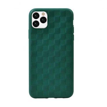 كفر بتصميم مطرز لآيفون 11 Pro من Devia - أخضر