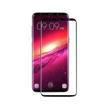 شاشة حماية زجاجية منحنية ثلاثية الأبعاد لسامسونج S9 Plus من Devia - أسود