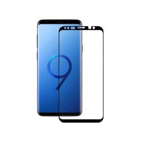 شاشة حماية زجاجية منحنية ثلاثية الأبعاد لسامسونج S9  من Devia - أسود