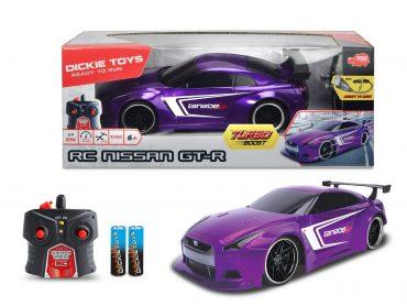 لعبة سيارة نيسان DICKIE - RC Nissan GT-R