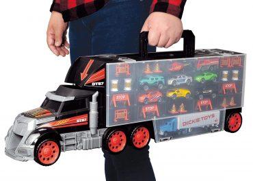 لعبة شاحنة نقل Truck Carry Case - Dickie